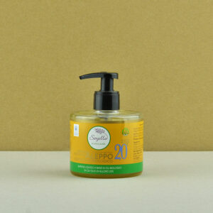 Liquid Aleppo organic soap 20% Sarjilla. Buy now!